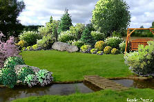 Garden design:seclusion ...