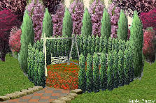 Garden design:Our Secret Place.