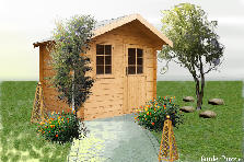 Garden design:azlynns storage garden 