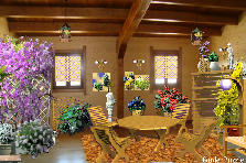 Garden design:Interior in the style Garden Puzzle