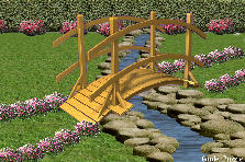 Garden design:River Garden