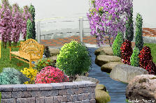 Garden design:Dream on the lake