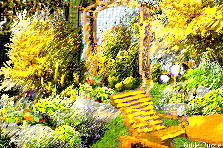 Garden design:sunny ..