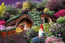 Garden design:Gnome Home