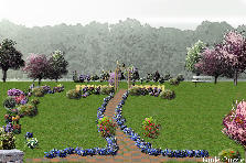 Garden design:aberdour/alternative/1