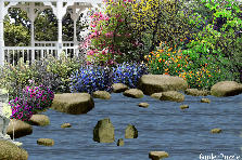 Garden design:Waterside Flowers