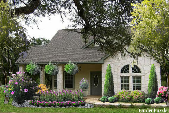 Garden design:Austin, Texas - Summer