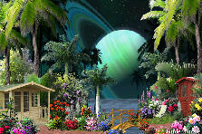Garden design:Out of this World