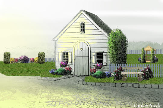 Garden design:farmhouse - Spring