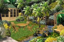Garden design:Vacation