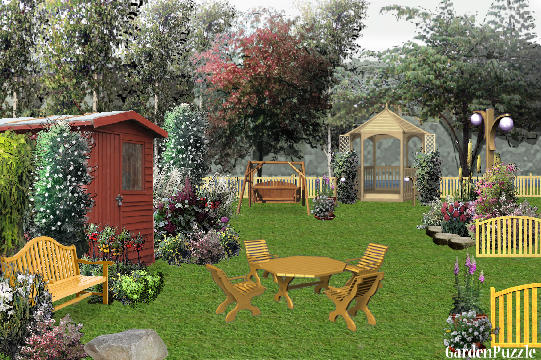 Garden design:My summer House - Spring