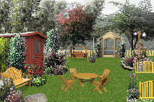 Garden design:My summer House
