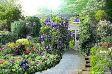 Garden design:the path