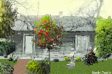 Garden design:Tennessee Home 1