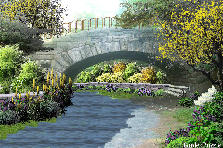 Garden design:bridge (my version)