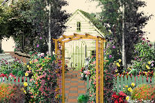Garden design:grandmothers  home
