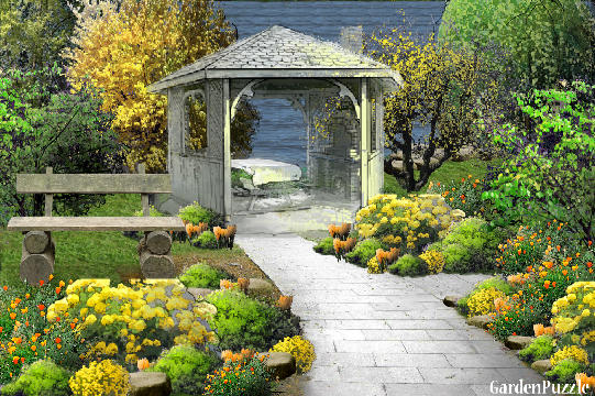 Garden design:yellow...my version - Spring
