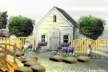 Garden design:Garden Shed