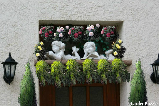 Garden design:The door - Spring