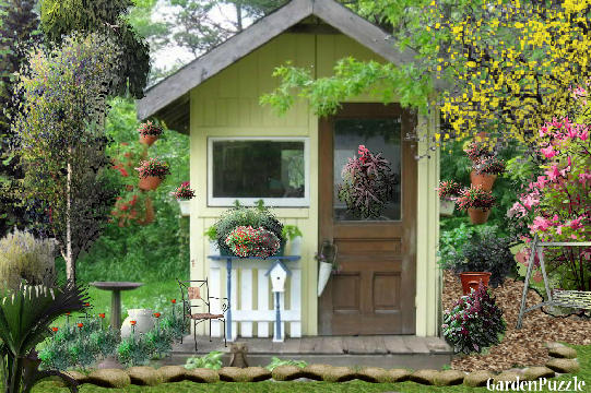 Garden design:MY SMALL HOUSE... - Spring