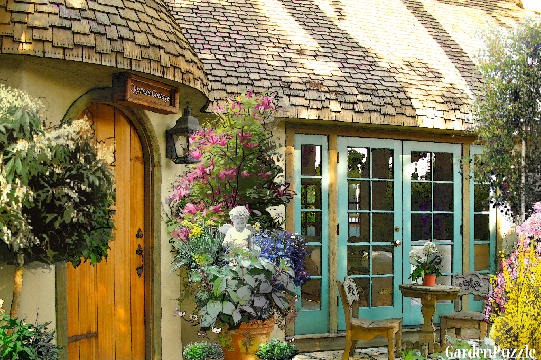 English garden gardenpuzzle online garden planning tool for Small english garden designs