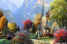 Garden design:Little Mountain Church