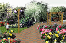 Garden design:a walk in the park