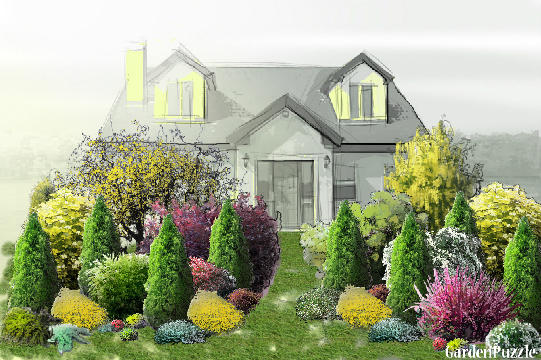 Garden design:Route One Property - Spring