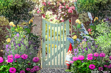 Garden design:Blue Gate 