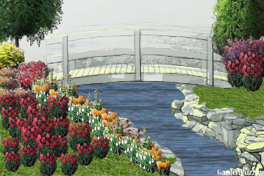 Garden design:MEU JARDIM - Spring