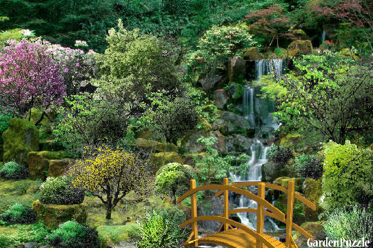 Garden design:little Kaskad - Spring
