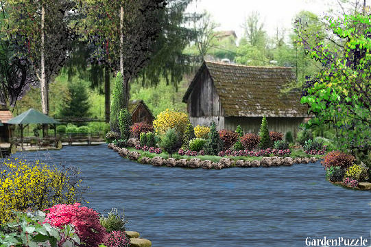 Garden design:summer cottage - Spring