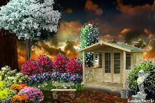 Garden design:holiday......