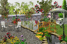 Garden design:Back Yard!