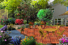 Garden design:A place of comfort