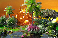 Garden design:Sunrise.