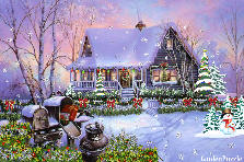 Garden design:All hearts come home for Christmas.