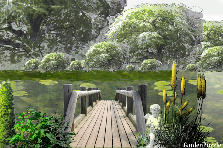 Garden design:fantazy_bridge