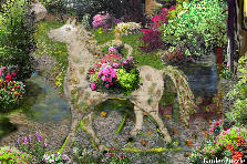 Garden design:Princess of spring's kingdom.