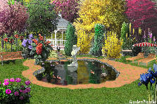 Garden design:Pond