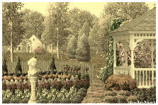 Garden design:my flower garden 1933