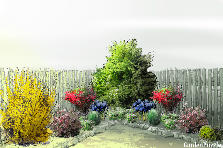 Garden design:Angolo Sud-ovest 