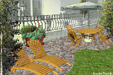 Garden design:Entertaining