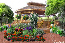 Garden design:Santee Park