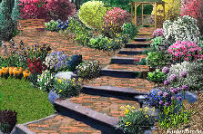 Garden design:Ashville