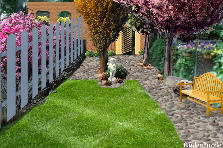Garden design:Strip of Yard