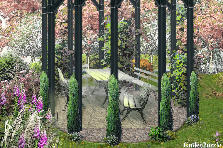 Garden design:My private park.