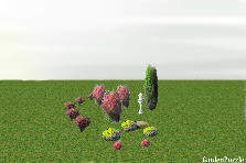 Garden design:front