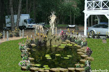 Garden design:Water Pond