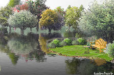 Garden design:By the River